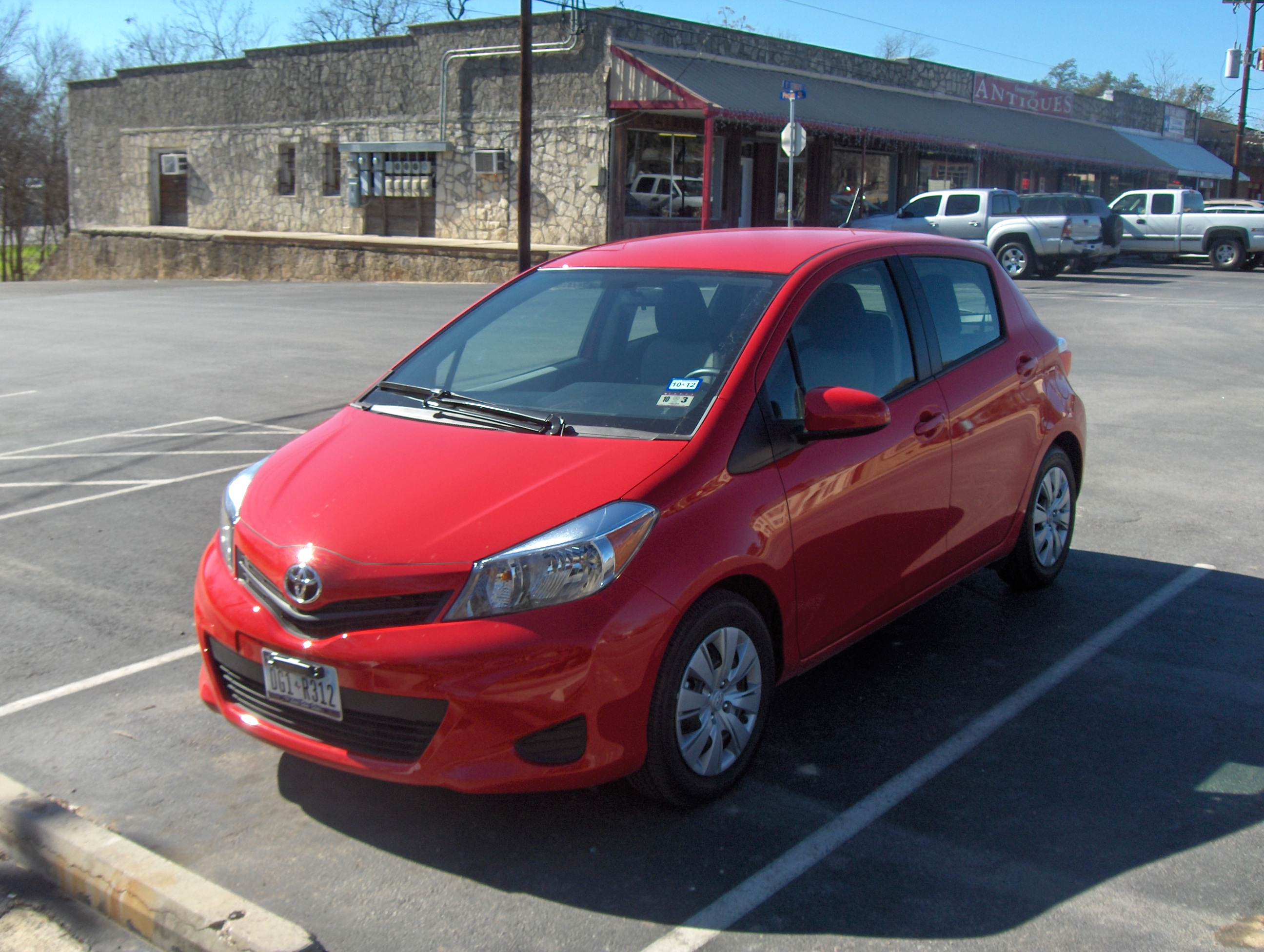 The Yaris (another Fairly Silly Name, When You Think About It) Is, Indeed,  A Car, And A Good One For The Price Range, ...