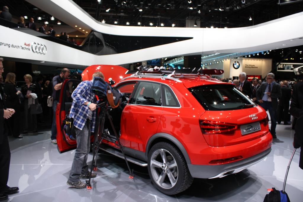 2012 Detroit Auto Show Audi Q3 Vail Concept Autosavant Autosavant