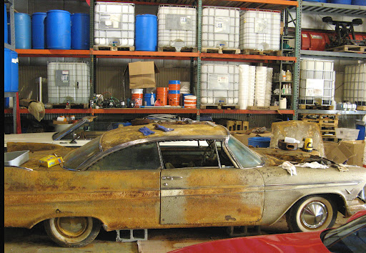 What Happened To The 1957 Plymouth Belvedere Buried In