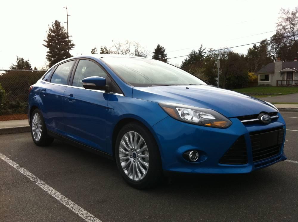 review 2012 ford focus titanium sedan autosavant autosavant. Cars Review. Best American Auto & Cars Review