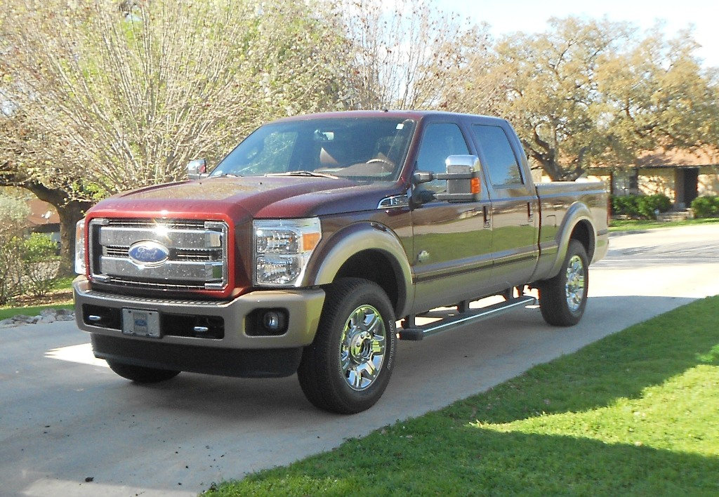 review 2012 ford f 250 super duty king ranch 4x4. Black Bedroom Furniture Sets. Home Design Ideas