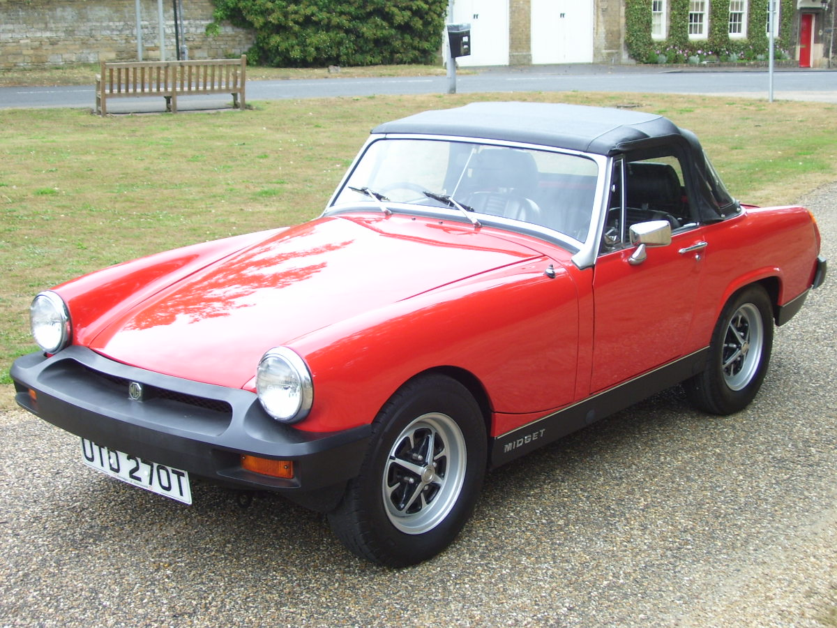 Best Buying a mg midget 8-) time