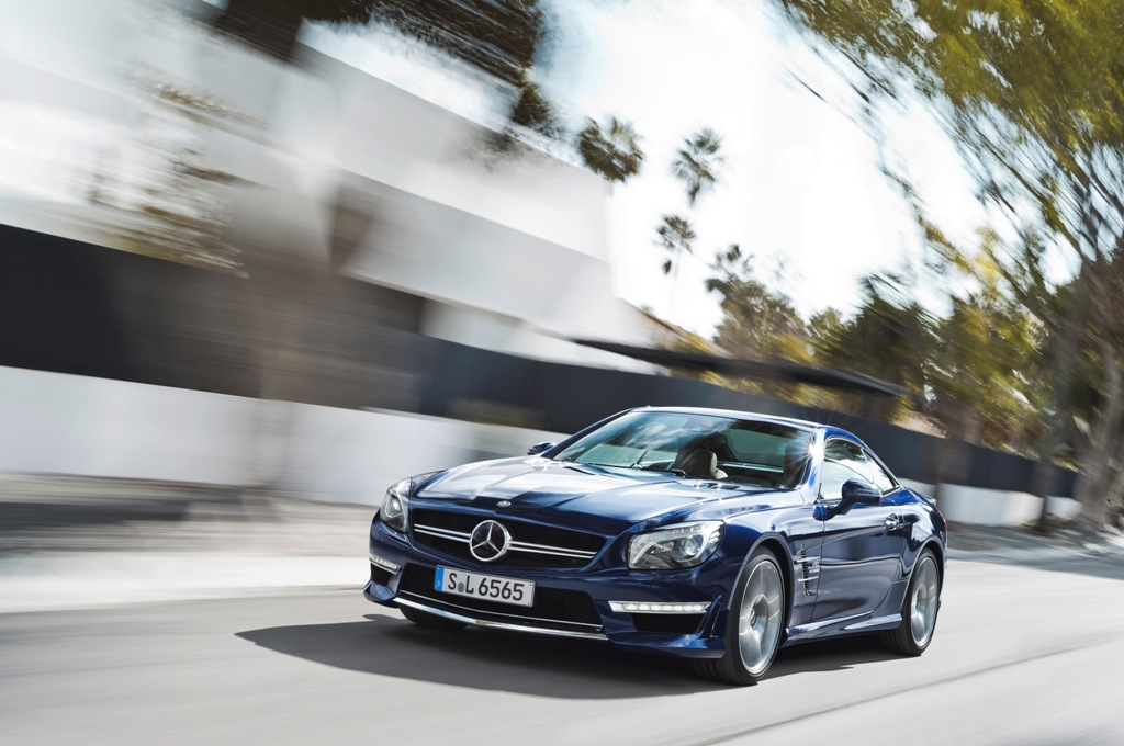 2013 Mercedes-Benz SL65 AMG Revealed Ahead Of New York Auto Show