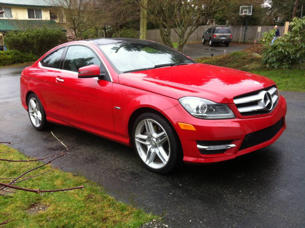 Review 2012 mercedes benz c350 coupe autosavant for 2012 mercedes benz e550 coupe review