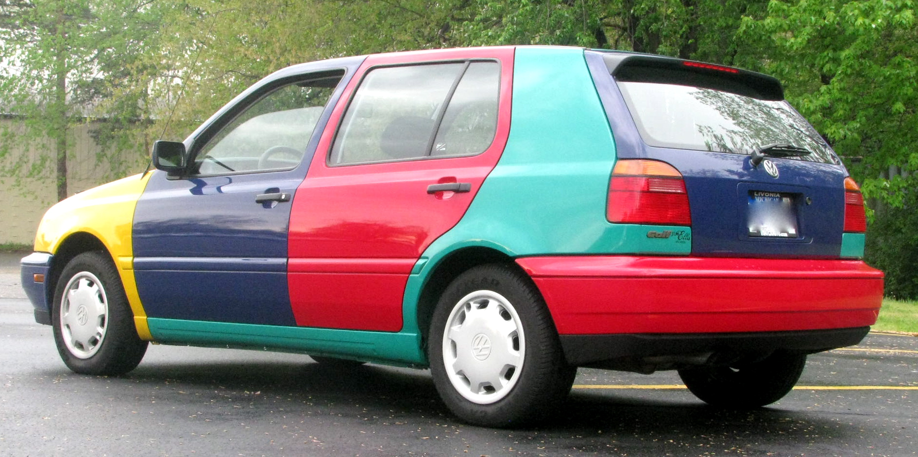 Hey There S A Cool Car 1996 Volkswagen Golf Harlequin