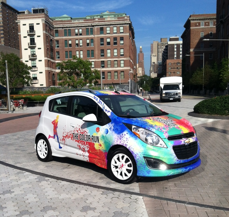 2013 Chevrolet Spark Color Run