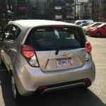 2013 Chevrolet Spark rear