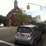 2013 Chevrolet Spark at Brooklyn church