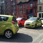 2013 Chevrolet Spark parking