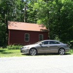 2013 Volkswagen CC Sport with barn
