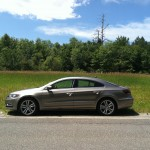 2013 Volkswagen CC Sport on roadside