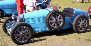Memory Lane: The Blue Bugatti