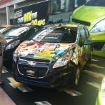 2013 Chevrolet Spark wrap front quarter