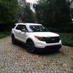 2013 Ford Explorer Sport front