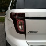 2013 Ford Explorer Sport rear badge