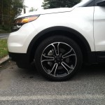 2013 Ford Explorer Sport front wheel