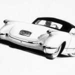 1953 Chevrolet Corvette Sketch 070806