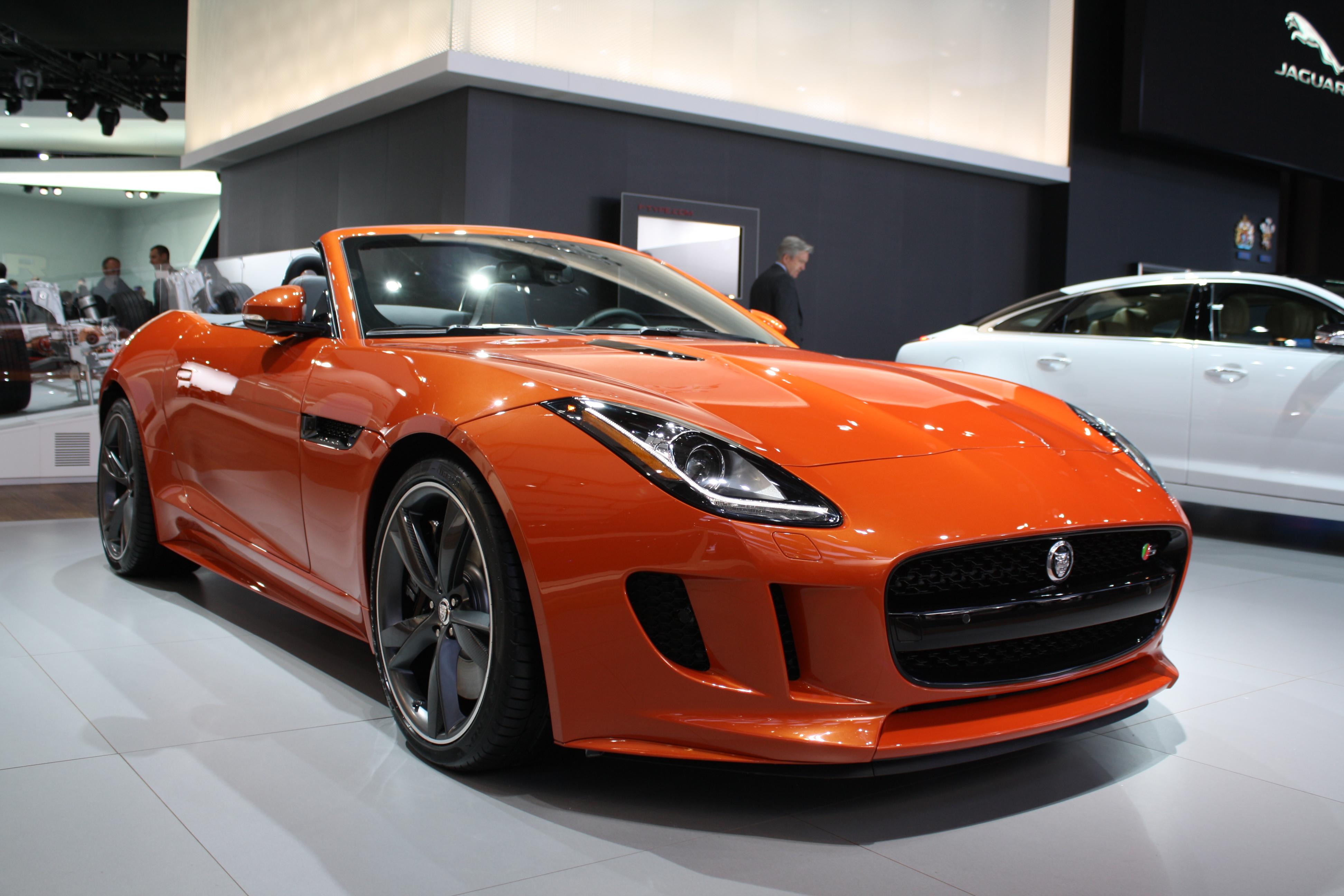 Detroit 2013: Jaguar F...