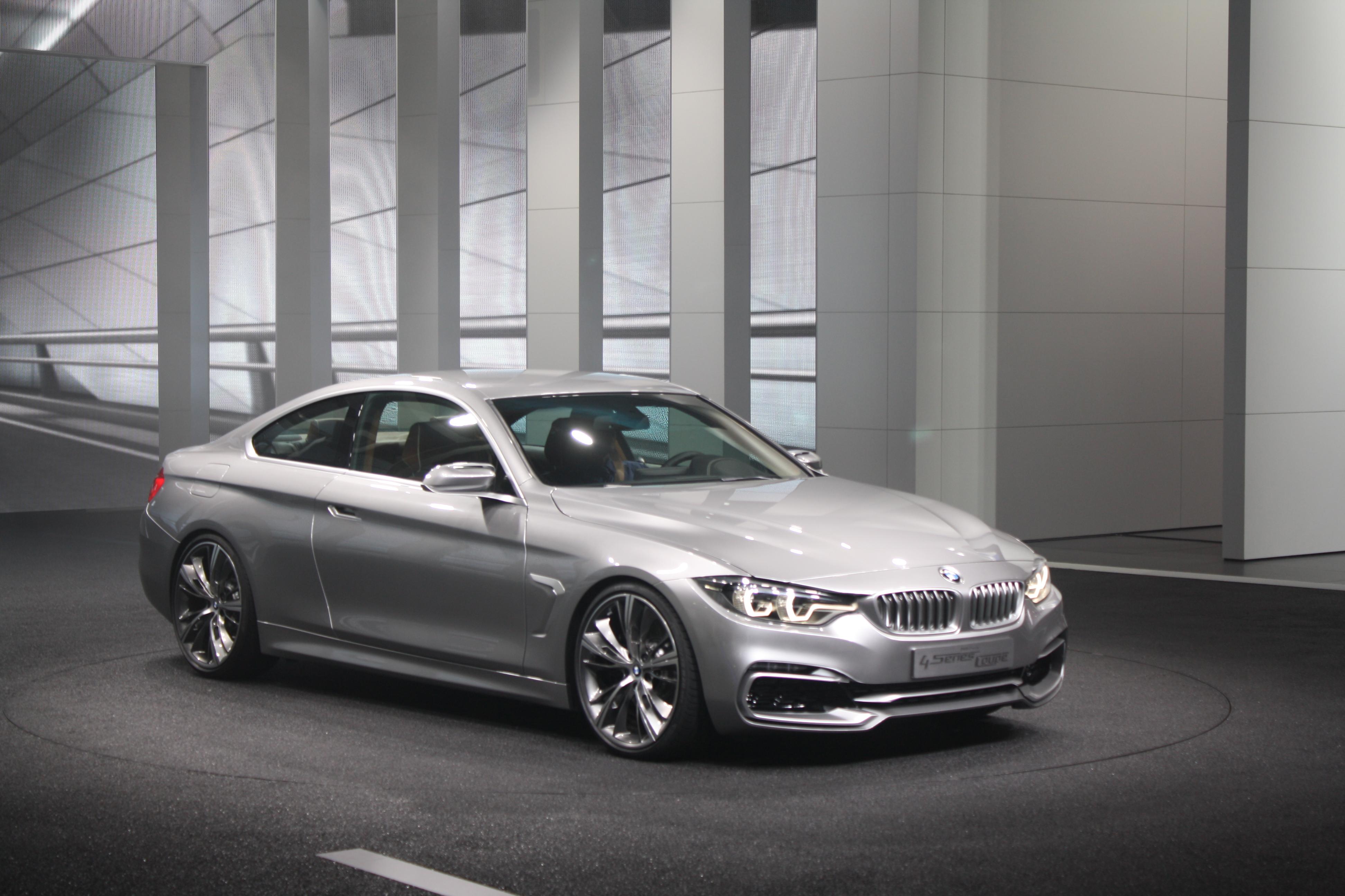 Detroit 2013: BMW 4 Series Coupe Concept - Autosavant | Autosavant