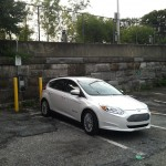 2012 Ford Focus Electric front quarter view