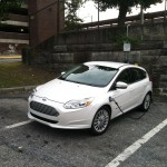 2012 Ford Focus Electric charging
