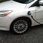 2012 Ford Focus Electric charging meter