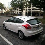 2012 Ford Focus Electric rear