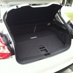 2012 Ford Focus Electric trunk
