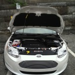 2012 Ford Focus Electric hood