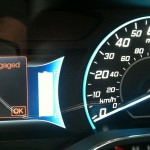 2012 Ford Focus Electric gauges