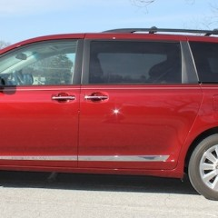 Long Term Test: 2013 Toyota Sienna XLE AWD Update 1