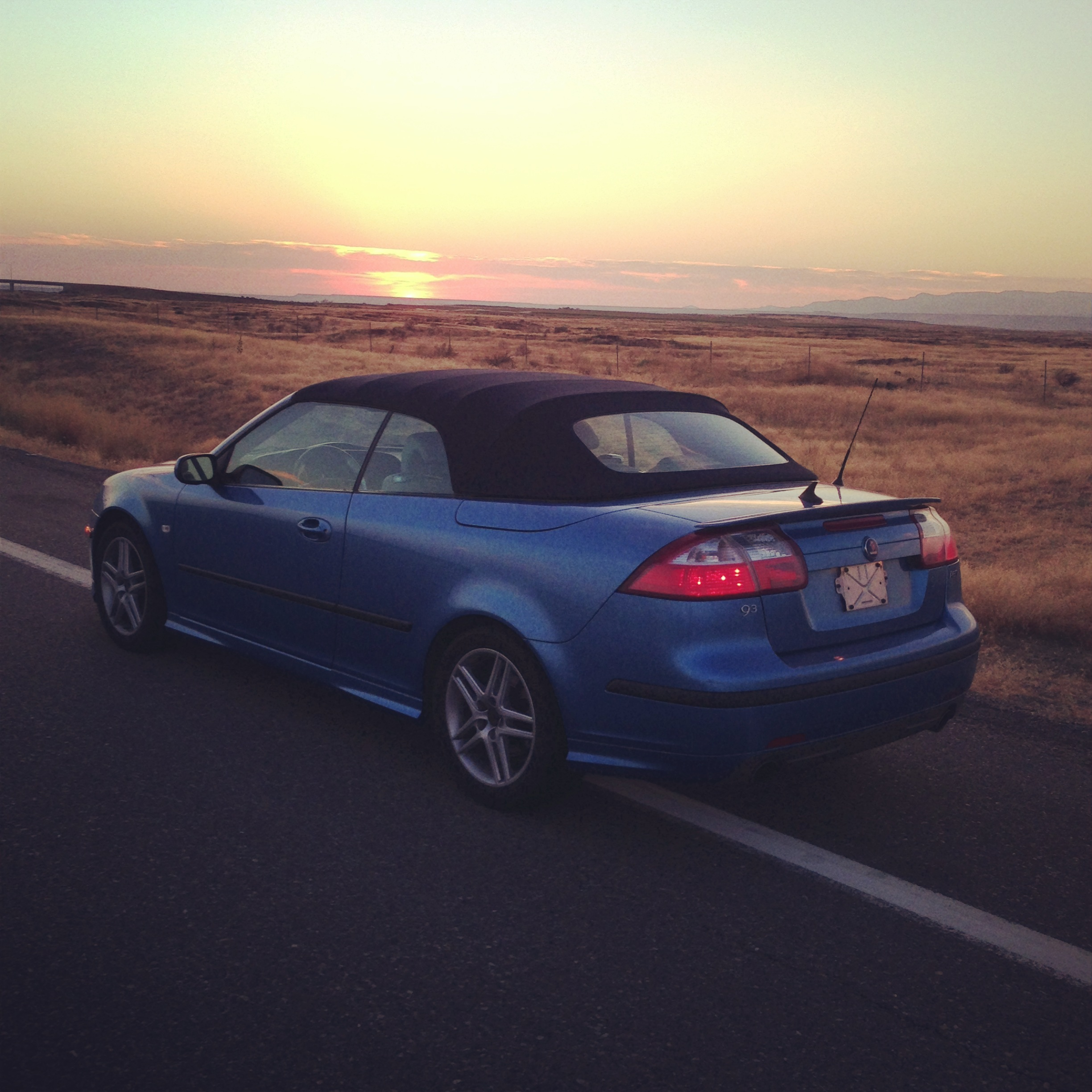 2006 Saab 9 3: Epic Great Drive: Santa Fe To Seattle