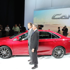 NY Auto Show: 2015 Toyota Camry