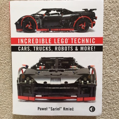 Book Review: Incredible Lego Technic Cars, Trucks, Robots & More
